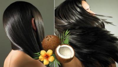 Combaterea a cinci probleme ale parului cu ajutorul uleiului de nuca de cocos