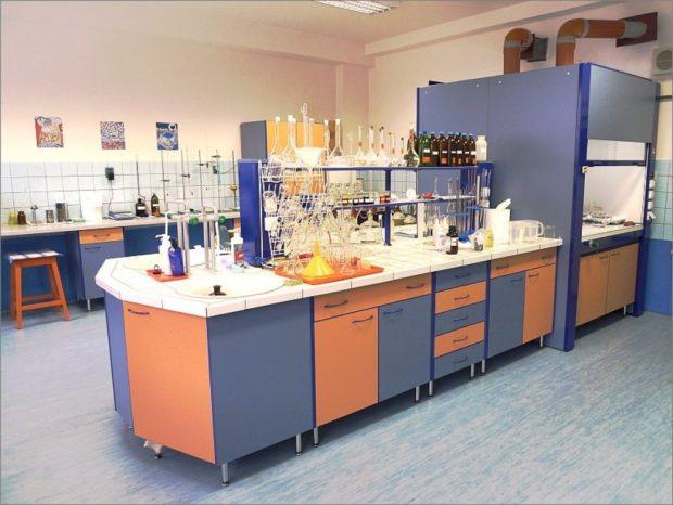 Laboratorul de specialitate si cum trebuie sa fie mobilierul din dotarea lui