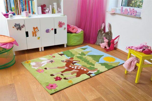 Amenajarea camerei celui mic: Ce covoare pentru copii sa aleg?